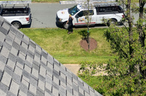 Fab Build Pro Roofing Contractor waving at camera